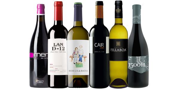 Lote Club Vinos Verema octubre 2014