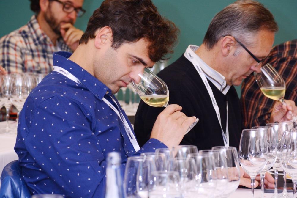 """""""Viaje de texturas y perfumes"""", cata a ciegas de Vila Viniteca en la Experiencia Verema Donostia 2014"""