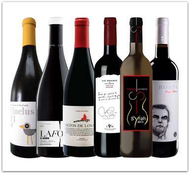 Lote Club Vinos Verema abril 2014