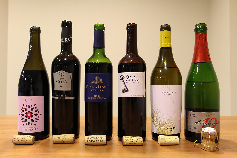 Lote Club Vinos Verema abril 2015