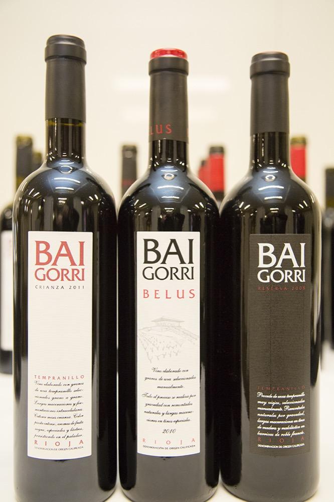Cata de vinos de Baigorri: La gravedad como aliado