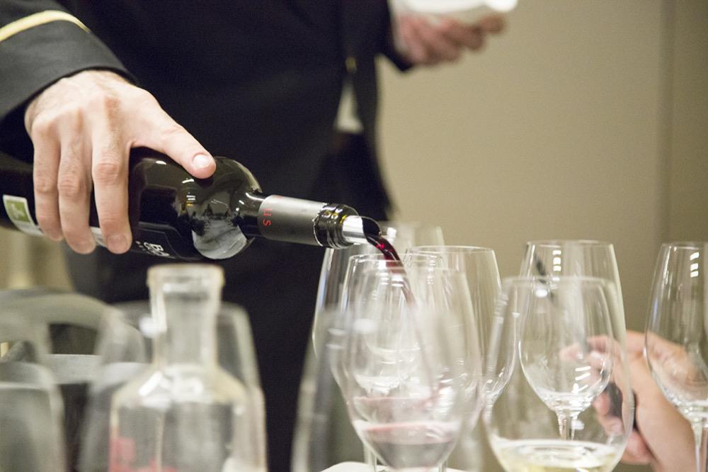 Cata de vinos de Baigorri: La gravedad como aliado. Belus 2010