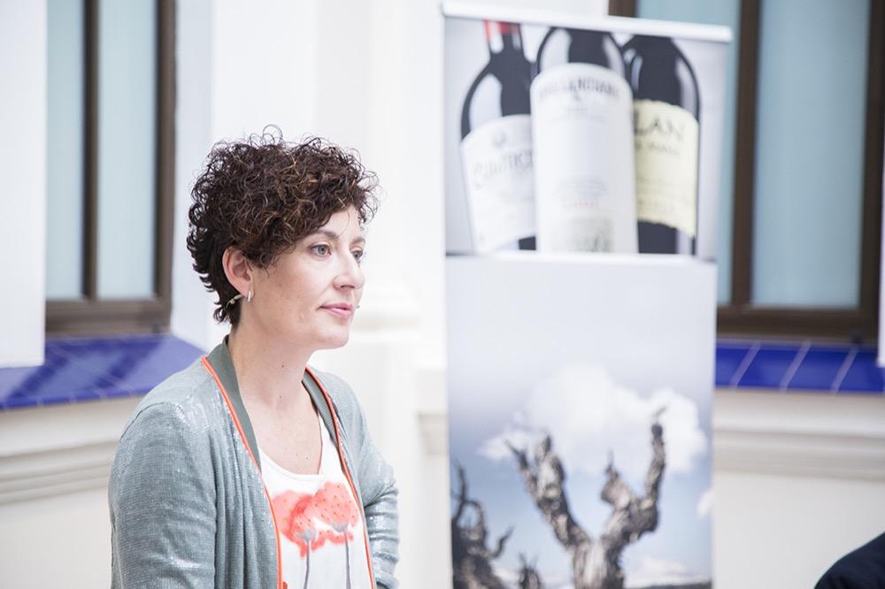 María Barúa, enóloga Bodegas Lan en la cata inaugural II Edición Verema Málaga
